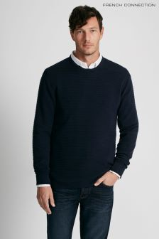 French Connection Blue Heatwave Jumper