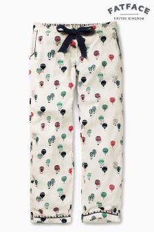 Fat Face Ivory Balloon Print Classic Pant