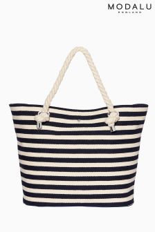 Modalu Nautical Brighton Summer Tote