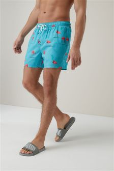Flamingo Swim Shorts