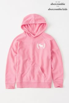 Abercrombie & Fitch Pink Overhead Hoody