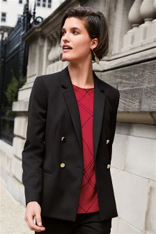 Tailored Double Breasted Jacket