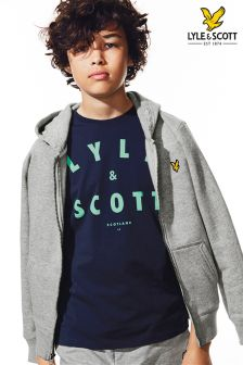 Lyle & Scott Large Logo Tee