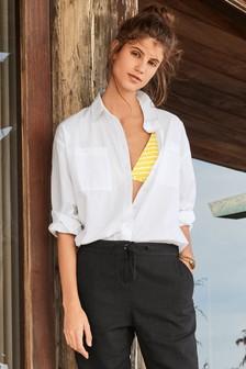 Womens White Shirts | Plain & Printed White Shirts | Next UK