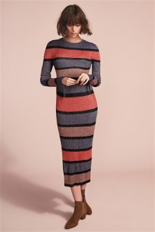 Stripe Rib Dress