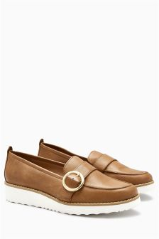 EVA Buckle Loafers