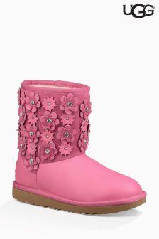 UGG® Pink Azalea Petal Classic Short II Boot