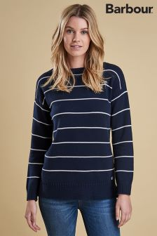 Barbour® Navy Stripe Barnavle Knit