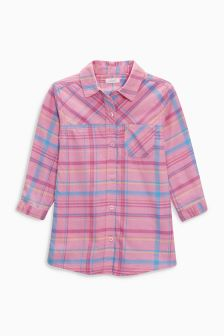 Check Shirt Dress (3mths-6yrs)
