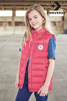 Converse Pink Poly Gilet