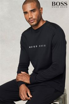 Boss Hugo Boss Black Logo Long Sleeve Crew