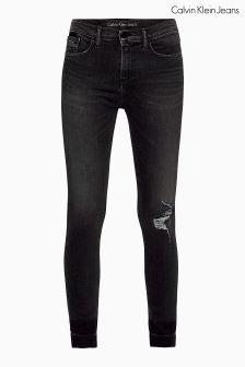 Calvin Klein Grey High Rise Skinny Jean