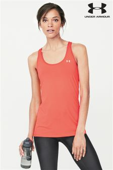 Under Armour Red Heatgear® Armour Racer Tank