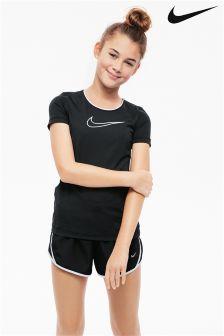 Nike Black Dry Tempo Running Short