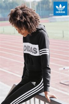 adidas Originals Black ID Crop Hoody