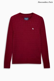 Abercrombie & Fitch Cable Crew Neck Jumper