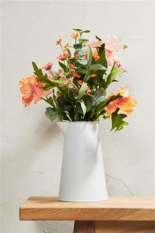 Orange Floral Mix Jug
