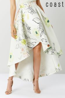 Coast Multi Botanical High Low Skirt