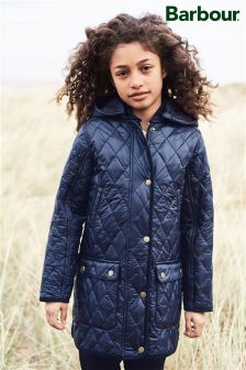 Barbour® Navy Combe Quilt Jacket