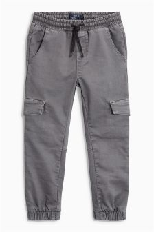 Garment Dye Cargo Trousers (3-16yrs)
