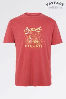 Fat Face Rosehip Sunset Cycle Graphic Tee