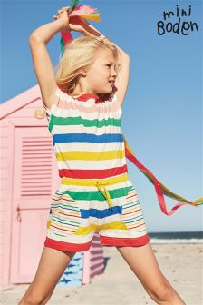 Boden Colourful Jersey Playsuit