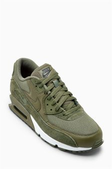 Nike Olive Air Max 90 Essential