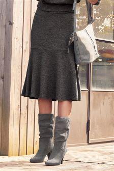 Midi Flippy Skirt