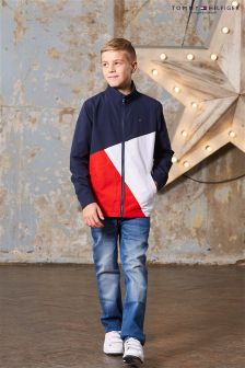 Tommy Hilfiger Navy Colourblock Jacket