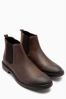 Waxy Chelsea Boot