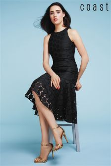 Coast Black Chelsea Lace Dress