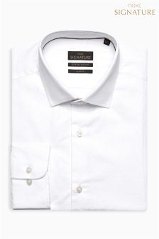 Signature Egyptian Cotton Paisley Print Slim Fit Shirt