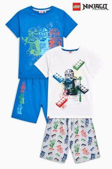 Lego Ninjago Pyjamas Two Pack (4-12yrs)