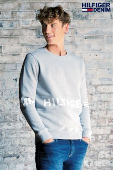 Hilfiger Denim Grey Basic Sweater