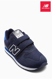 New Balance Navy 373 Velcro