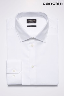 Signature Textured Italian Fabric Shirt