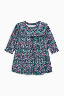 Floral Long Sleeve Tunic (3mths-6yrs)