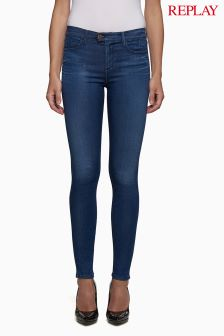 Replay Touch Dark Wash Skinny Jean