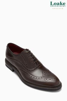 Loake Dark Brown Demon Oxford Brogue