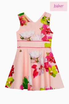 Baker By Ted Baker Pink Orchid Prom Dress