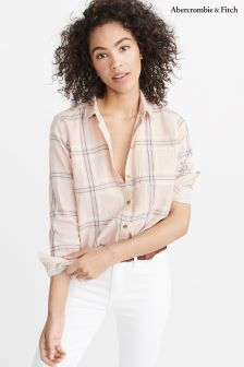 Abercrombie & Fitch Pink Check Shirt