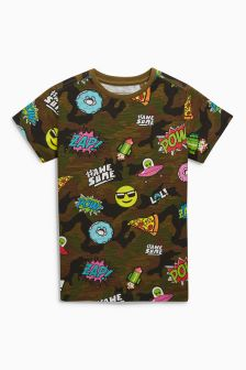 All-Over-Print Short Sleeve T-Shirt (3-16yrs)