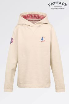 Fat Face Oatmeal Bude Popover Hoody