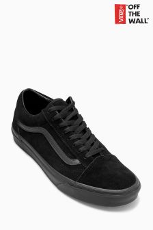 Vans Triple Black Suede Old Skool