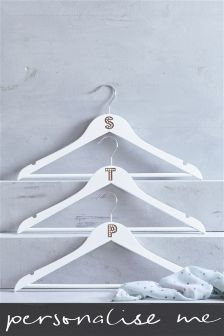Wooden Hanger Initial By Loveabode