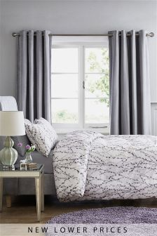 Mauve Willow Bed Set