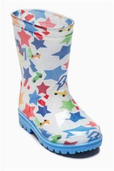 Star Wellies (Younger Boys)