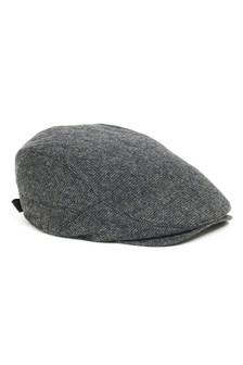 Grid Texture Flat Cap