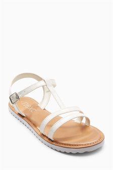 Strippy Sandals (Older Girls)