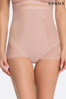 Spanx® Vintage Rose Lace Shaping High Waisted Brief